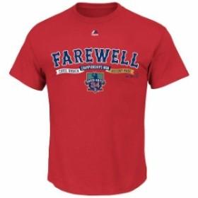 Majestic マジェスティック スポーツ用品  Majestic David Ortiz Boston Red Sox Red Farewell Banner Retirement T-Shirt