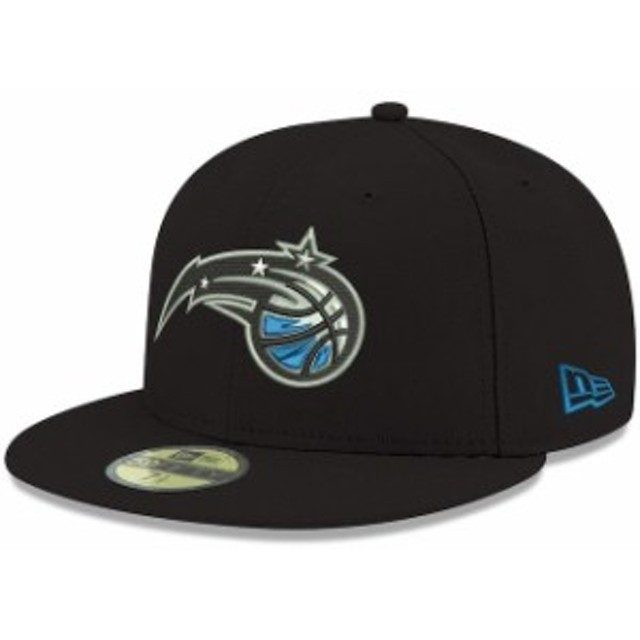 New Era ニュー エラ スポーツ用品  New Era Orlando Magic Black Official Team Color 59FIFTY Fitted Hat