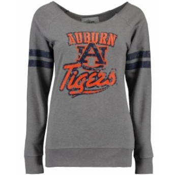 Glitter Gear グリッター ギア スポーツ用品 Auburn Tigers Womens Gray Flash Dance Fleece Sweatshirt