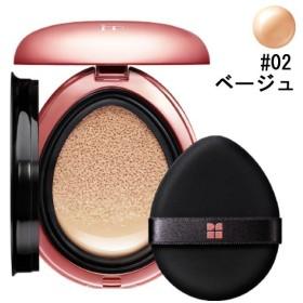 フローフシ イオン デ クッション カバー SPF32/PA+++ #02 ベージュ 20g FLOWFUSHI 化粧品