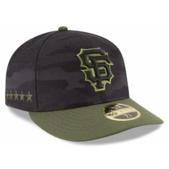 New Era ニュー エラ 服 New Era San Francisco Giants Black 2018 Memorial Day On-Field Low Profile 59FIFTY Fitted Hat