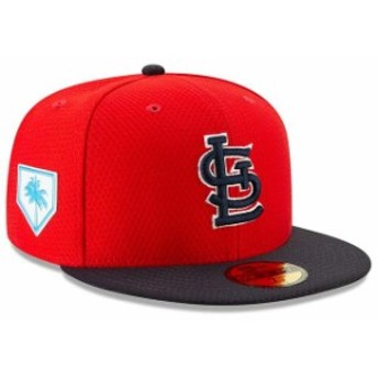 New Era ニュー エラ 服 New Era St. Louis Cardinals Red/Navy 2019 Spring Training 59FIFTY Fitted Hat