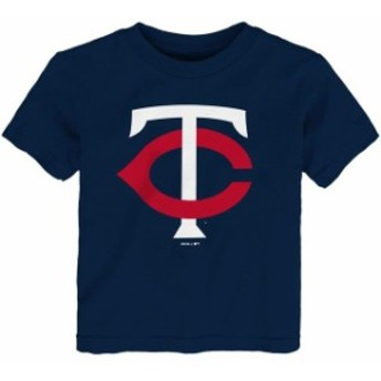 Outerstuff アウタースタッフ スポーツ用品 Minnesota Twins Toddler Navy Team Primary Logo T-Shirt