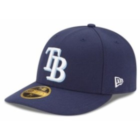 New Era ニュー エラ スポーツ用品  New Era Tampa Bay Rays Navy Game Authentic Collection On-Field Low Profile 59FIFTY