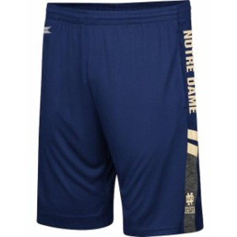 Colosseum コロセウム スポーツ用品  Colosseum Notre Dame Fighting Irish Navy Big & Tall Perfect Season Shorts