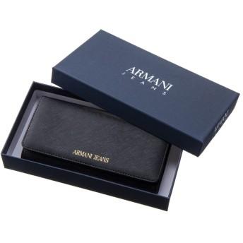 ARMANI JEANS/アルマーニジーンズ 長財布 928541 CD857ブラック