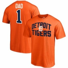 Fanatics Branded ファナティクス ブランド スポーツ用品  Fanatics Branded Detroit Tigers Orange 2018 Fathers Day