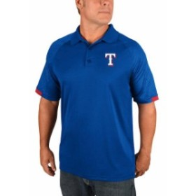 Majestic マジェスティック シャツ ポロシャツ Majestic Texas Rangers Royal Outburst Polo
