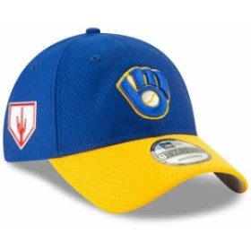 quality design 50a77 6314c New Era ニュー エラ スポーツ用品 New Era Milwaukee Brewers Blue Yellow 2019 Spring  Training