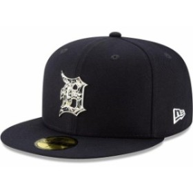 New Era ニュー エラ スポーツ用品  New Era Detroit Tigers Navy Fractured Metal 59FIFTY Fitted Hat