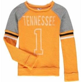 Colosseum コロセウム スポーツ用品  Colosseum Tennessee Volunteers Girls Youth Tennessee Orange Double Axel Pullover S