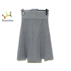 ジユウク 自由区/jiyuku スカート サイズ32 XS レディース 美品 グレー ニット   スペシャル特価 20190816