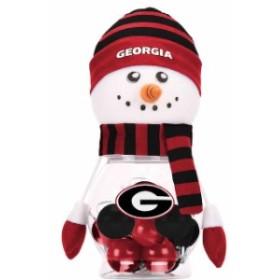 Forever Collectibles フォーエバー コレクティブル スポーツ用品  Georgia Bulldogs 12-Pack Snowman Jar Shatterpr