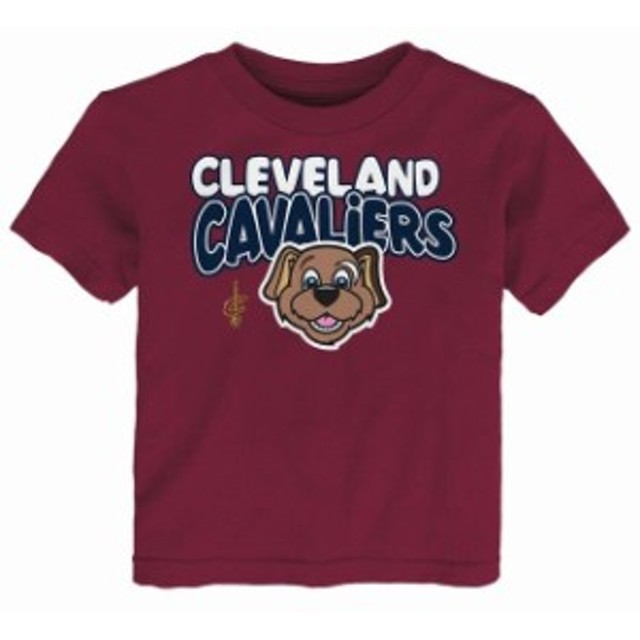 Outerstuff アウタースタッフ スポーツ用品  Cleveland Cavaliers Preschool & Toddler Wine Bubble Letter T-Shirt