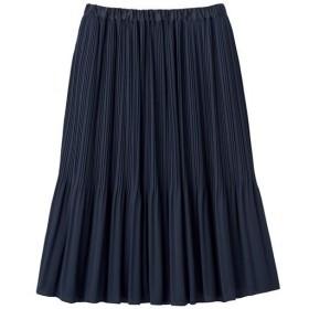 30%OFF【レディース】 プリーツスカート(フォーマル・卒業式・入学式) - セシール ■カラー:ネイビー ■サイズ:L,S,M