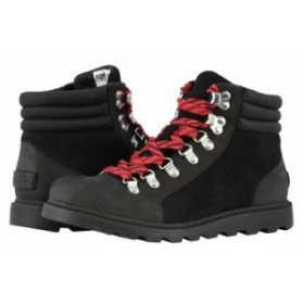 ソレル ブーツ Ainsley(TM) Conquest Black Full Grain Leather