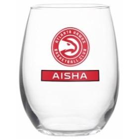 Boelter ベルター スポーツ用品  Atlanta Hawks Personalized 17oz Full Color Stemless Wine Glass