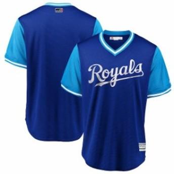 Majestic マジェスティック スポーツ用品 Majestic Kansas City Royals Royal/Light Blue 2018 Players Weekend Team Jer