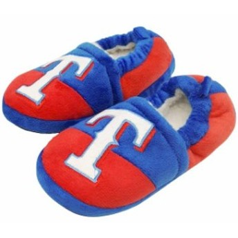 Forever Collectibles フォーエバー コレクティブル シューズ スリッパ Texas Rangers Toddler Colorblock Slide S