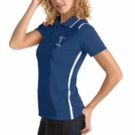 Antigua アンティグア シャツ ポロシャツ Antigua LPGA Womens Royal Merit Polo