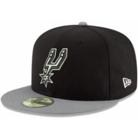 New Era ニュー エラ スポーツ用品  New Era San Antonio Spurs Black 2Tone 59FIFTY Fitted Hat