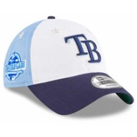 New Era ニュー エラ スポーツ用品  New Era Tampa Bay Rays White/Navy 2018 MLB All-Star Game 9TWENTY Adjustable Hat