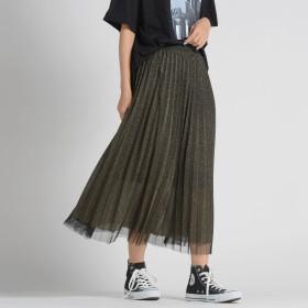 LIPSTAR(リップスター)/【WEB別注】ラメプリーツスカート