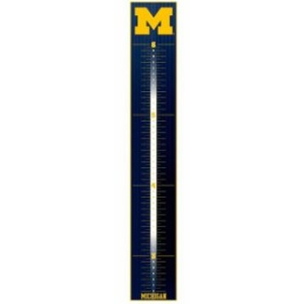 Fathead ファサード スポーツ用品 Fathead Michigan Wolverines Logo Large Removable Growth Chart