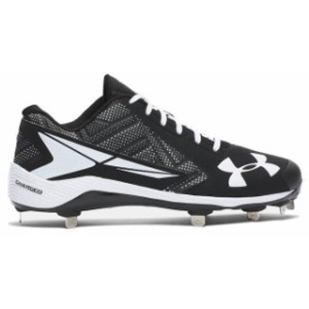 Under Armour アンダー アーマー スポーツ用品 Under Armour Black/White Yard Low ST Cleats