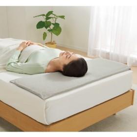 高さ1.5cm(低いにもほどがある超薄型VーLap(R)枕(カバー付き))アイボリー