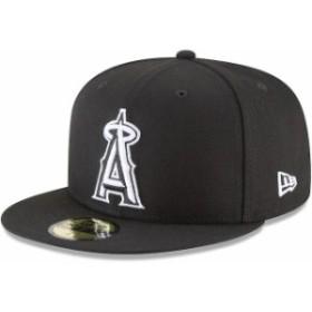 New Era ニュー エラ スポーツ用品  New Era Los Angeles Angels Black Basic 59FIFTY Fitted Hat