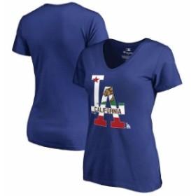 Fanatics Branded ファナティクス ブランド スポーツ用品  Fanatics Branded Los Angeles Dodgers Womens Royal Hometo