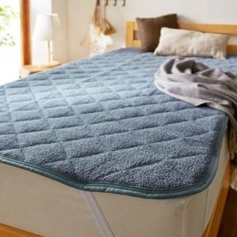 綿100%ふわふわパイルの敷きパッド
