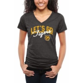 Fanatics Branded ファナティクス ブランド スポーツ用品  Colorado College Tigers Womens Black Lets Go Tri-Blend V