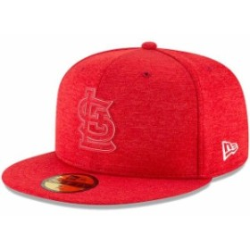 New Era ニュー エラ 服  New Era St. Louis Cardinals Heather Red 2018 Clubhouse Collection 59FIFTY Fitted Hat