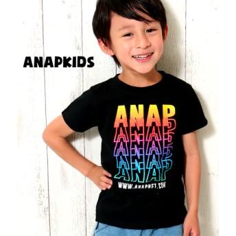 ANAP KIDS アナップキッズ グラデーションプリントTシャツ