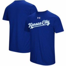 Under Armour アンダー アーマー スポーツ用品  Under Armour Kansas City Royals Royal Passion Road Team Font Performa