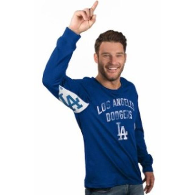 Hands High ハンズ ハイ スポーツ用品  Los Angeles Dodgers Royal Hands High Long Sleeve T-Shirt