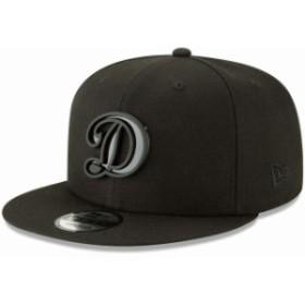New Era ニュー エラ スポーツ用品  New Era Los Angeles Dodgers Black Metal Stack 9FIFTY Adjustable Hat