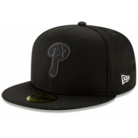 New Era ニュー エラ スポーツ用品  New Era Philadelphia Phillies Black Clubhouse Collection 59FIFTY Fitted Hat