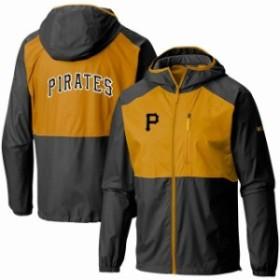 Columbia コロンビア アウターウェア ジャケット/アウター Columbia Pittsburgh Pirates Black Flash Forward Full
