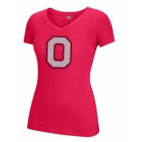 Scarlet & Grey スカーレット アンド グレイ スポーツ用品  Ohio State Buckeyes Womens Scarlet Choice Secondary Lo