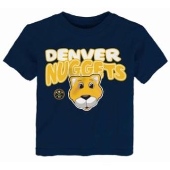 Outerstuff アウタースタッフ スポーツ用品 Denver Nuggets Preschool & Toddler Navy Bubble Letter T-Shirt
