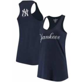 Soft as a Grape ソフト アズ ア グレープ スポーツ用品  Soft As A Grape New York Yankees Womens Navy Front & Back