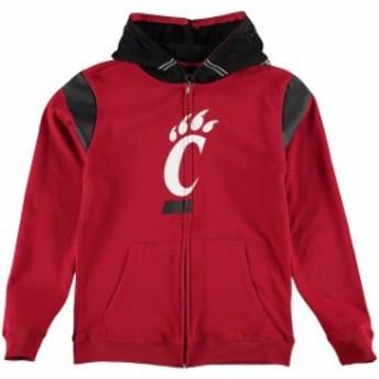 Outerstuff アウタースタッフ スポーツ用品 Cincinnati Bearcats Youth Red Helmet Full Zip Jacket