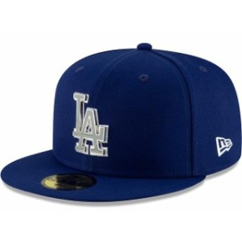 New Era ニュー エラ スポーツ用品 New Era Los Angeles Dodgers Royal Metal & Thread 59FIFTY Fitted Hat