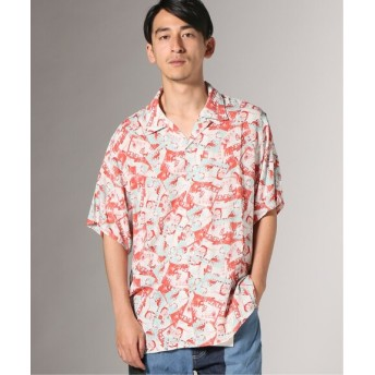 JOURNAL STANDARD FACT/ファクト: BLANK GENERATION オープンカラーシャツ レッド M