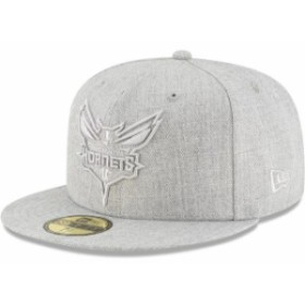 New Era ニュー エラ スポーツ用品  New Era Charlotte Hornets Gray Twisted Frame 59FIFTY Fitted Hat