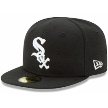 New Era ニュー エラ スポーツ用品 New Era Chicago White Sox Infant Black Authentic Collection On-Field My First 59FIF