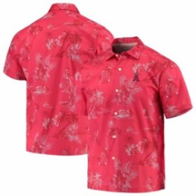 Tommy Bahama トミー バハマ スポーツ用品  Tommy Bahama Los Angeles Angels Red Seventh Inning Button-Up Shirt